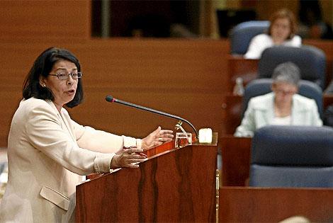 Ines Sabanés, en la Asamblea. (Rivas)