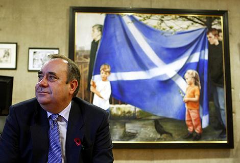 El 'premier' escocés, Alex Salmond. | Reuters