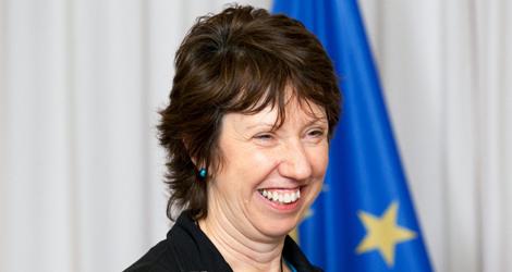 La baronesa Ashton.   Efe