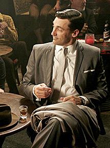 Don Draper, de 'Mad Men'.