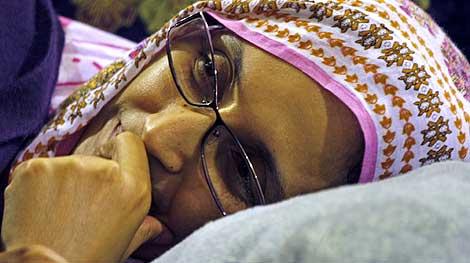 La activista saharaui Aminatu Haidar.   Efe