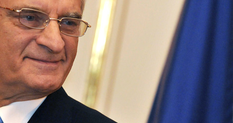 El presidente del Parlamento Europeo, Jerzy Buzek. | AFP