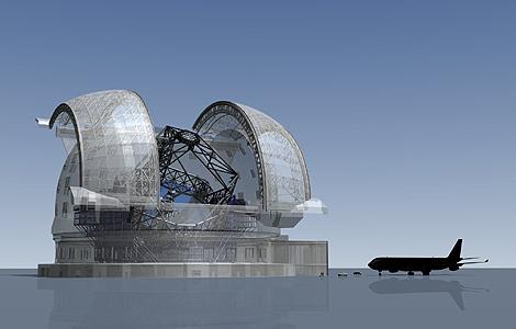 Proyecto para el telescopio Europeo Extremadamente Grande. | ESO