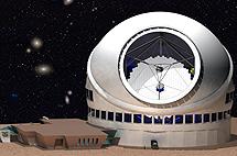 El Thirty Meter Telescope. | TMT