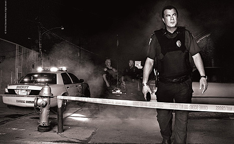 Poster promocional del 'reality' 'Steven Seagal: Lawman'.