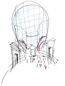 Boceto del propio Vázquez Consuegra.