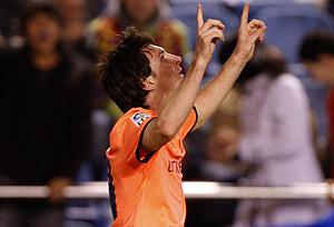 Messi ya tiene su 'Balón de Oro'. (AP).