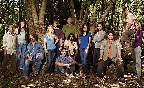 Imagen del famoso reparto de la serie 'Lost'. (Firma: ABC).