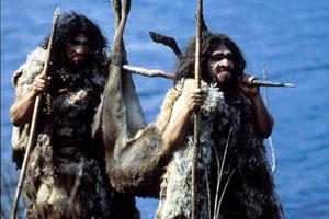 Una imagen del documental 'Neanderthal', que recrea la vida de estos homínidos. | El Mundo