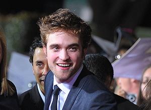 Robert Pattinson en la presentación de 'Luna Nueva' en Los Angeles. | Afp