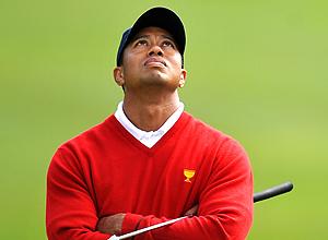 Tiger Woods en la Copa del Presidente en San Francisco. | Afp