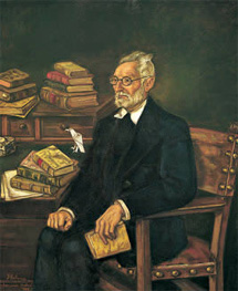 Retrato del escritor por Gutiérrez Solana