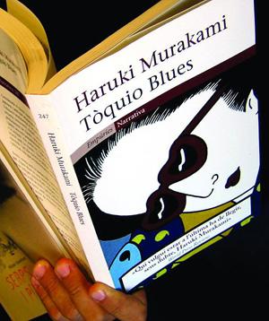 Libro de Haruki Murakami. | Foto: D.Umbert