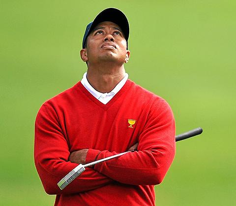 El golfista en la Copa del Presidente en San Franciso. | Afp