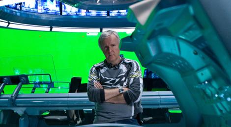 James Cameron, en un momento de la producción de 'Avatar'. | Foto: Fox