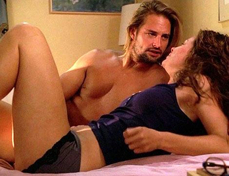 Kate y Swayer, en una escena de la serie.