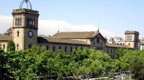 Fachada de la Universidad de Barcelona.| ELMUNDO