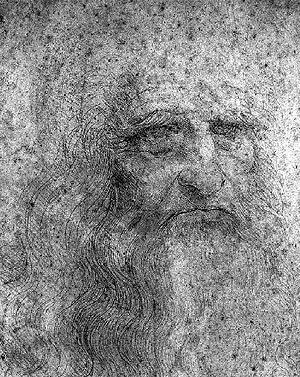 Autorretrato de Leonardo.