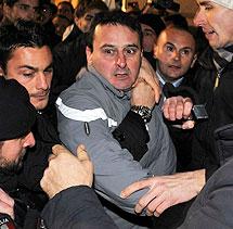 El agresor, Massimo Tartaglia. | AFP