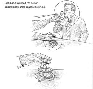 Cómo envenenar a tu enemigo mientras das fuego.