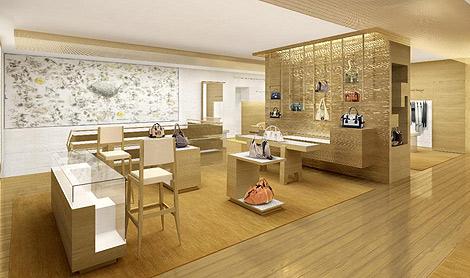 Interior de la nueva tienda Loewe en Valencia   E.M.
