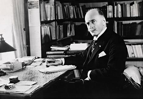 El novelista Knut Hamsun. | Archivo