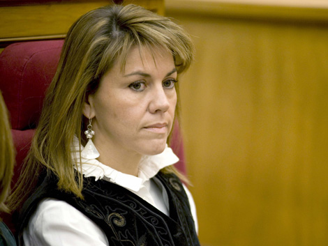 María Dolores de Cospedal, secretaria general del PP. | Efe