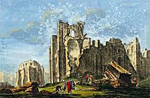 Un grabado de época de 1755.