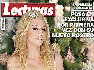 Belén Esteban, en la portada de la revista 'Lecturas'.