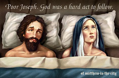 El cartel de la polémica, obra de la iglesia anglicana St Matthew-in-the-city. | AFP