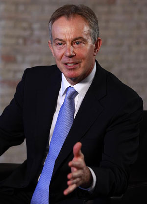 Tony Blair. | Foto: B.Strong