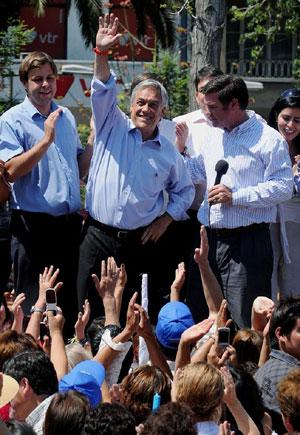 Candidato Sebastian Piñera | Foto: R.Arangua