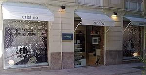 Fachada de la tienda Cristina en Valencia | E.M.
