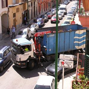 Una de las calles del barrio. | E. V.