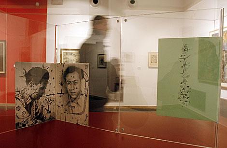 Algunas de las obras expuestas en la muestra 'Dau al set', en Córdoba. | Madero Cubero