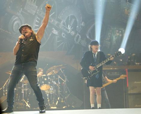 Concierto de AC/DC en el Palacio de Sant Jordi. | Quique García