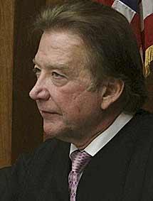 El juez del estado de Nueva Jersey Donald Venezia. | Efe