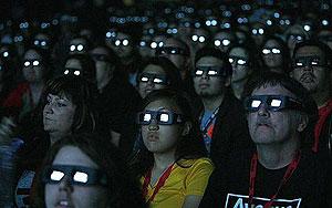 """Espectadores viendo """"Avatar"""""""