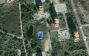 Imagen área de la piscina. | Google Earth