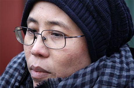 Liu Xia, mujer del preso Xiaobo. | AP