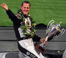 Michael Schumacher. | AFP