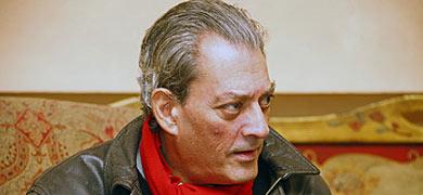 El escritor Paul Auster, en León. | José Manuel Gutiérrez