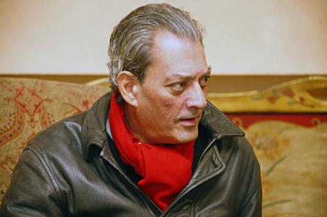 El escritor estadounidense Paul Auster, en León. | José Manuel Gutiérrez