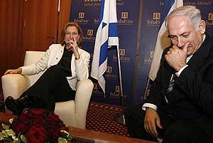 Netanyahu y Livni, ¿rivales irreconciliables?