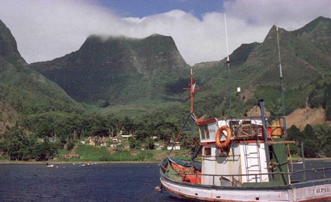 La isla Robinson Crusoe.