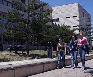 Estudiantes de la UIB