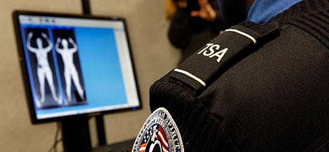 Un escáner corporal en el Ronald Reagan National Airport de Virginia (EEUU). | AP