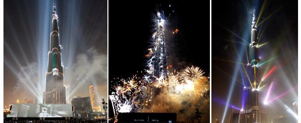 Imágenes de la inaguración de la torre. | EFE - [Album: Una mole de 828 m.]