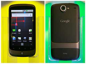 El frontal y el revés del Nexus One. | Reuters