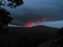 Erupción del Nyamulagira. | gorila.cd